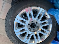 Rims and tires and center caps tpms also set of five District Heights, 20747
