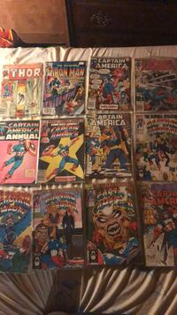 assorted Marvel comic book collection Mission, 66202