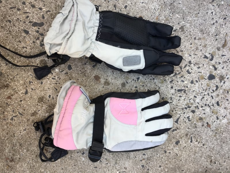Pink & Gray Snow Gloves da4ff06e-be65-4d5c-a12c-5df2407c3a65