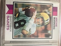 Archie manning trading card Naperville, 60565