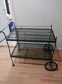 Garden trolley or plant stand