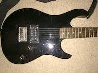black and brown electric guitar Melbourne, 32901