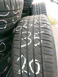 225 35 zr20 all four tires and rims Saint Petersburg, 33714