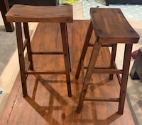 "2 barstools, 29"" high Ashburn"
