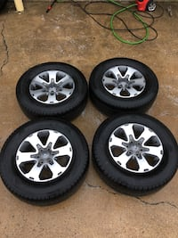 Ford F150 Wheels, Tires and TPMS sensors.  Tires are Hankook DynaPro HT size 275/65/18, new condition!  lug pattern: 6x135  $750 for the setup.  I also carry many size tires. Crum Lynne, 19022