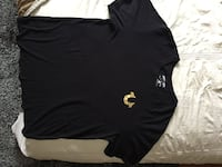 MINT CONDITION BLACK AND GOLD TRUE RELIGION SHIRT