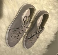 Grey Leather Converse  Edmonton