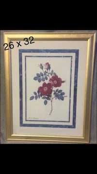 Flower Wall Frame