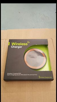 Wireless charger pad (Orange)