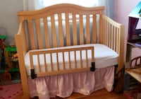 baby's white wooden crib Lake Ridge, 22192