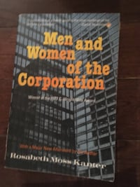 Men and Women of Corporation book by Rosabeth Moss Kanter