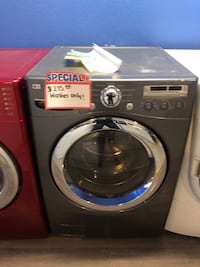 Lg front load washer, in perfect condition