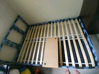 Hand painted galaxy double bed frame Edmonton, T5W 4L4