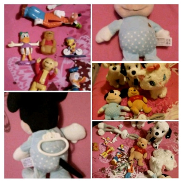 Disney teddy's + lullaby Mickey
