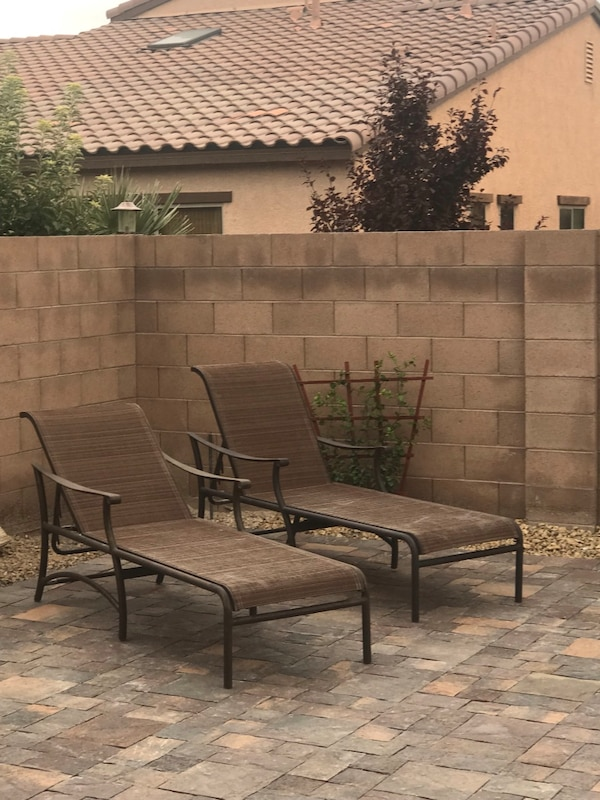 Used Outdoor Patio Furniture Chaise Lounge Pool Chairs For