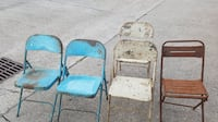 Antic Indian School Chairs NEWORLEANS
