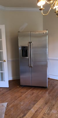 stainless steel side-by-side refrigerator with dispenser Herndon, 20170
