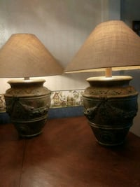 2 handcrafted lamps Maiden, 28650
