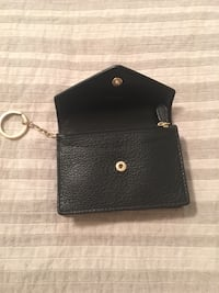 Black Leather COACH wallet keychain Vaughan, L4J 2E8