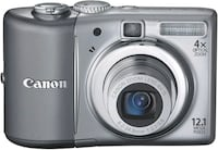 Canon PowerShot A1100IS 12.1 MP Digital Camera