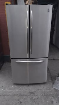 Lg French door refrigerator water and ice