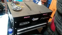 Snap on/blue point roll cart
