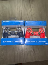 Two ps4 dualshock controls