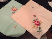 Embroidered table cloths Pickering, L1V 2V7