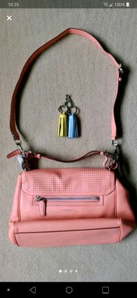 Salmon Coach Purse
