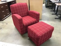Accent Chair with Ottoman Tempe, 85281