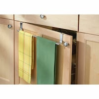 Over-the-Cabinet Expandable Kitchen Dish Towel Bar Holder New Westminster
