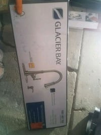Glacier bay touchless faucet with led light Hanover Park