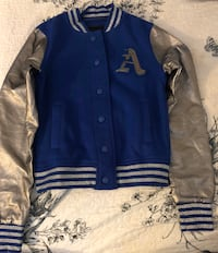 iris basic Letterman jacket