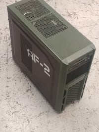 Army-themed AMD Gaming PC w/8-core CPU Harahan