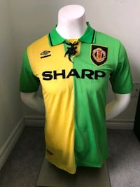 1994 Manchester United Retro Jerseys !  Mississauga, L5B