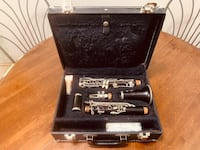 37 Year Old Noble Paris Wooden Clarinet: 1 Owner  *Cash only