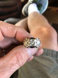 silver-colored diamond ring Tinley Park, 60477