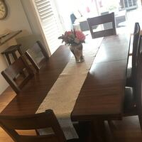 Solid wood dining room set St. Catharines