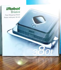 iRobot Braava 380t Advanced Robot Mop- Wet Mopping Falls Church, 22042