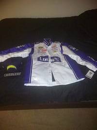 NASCAR jacket with hat new with tag St. Louis