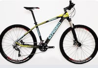 Black and yellow stradalli hardtail bicycle full carbon only 1500 obo Boulder, 80302