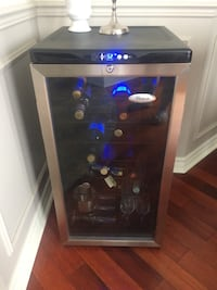 Wine cooler whirlpool