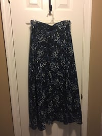 Women's black and blue floral skirt Alexandria, 22315