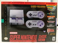 Super NES Classes (New never opened) Washington, 20010
