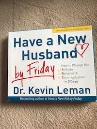 Audio book cd - have a new husband by Friday Columbia, 21046