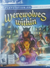 Sony PS4 Werewolves Within case Clearwater, 33759