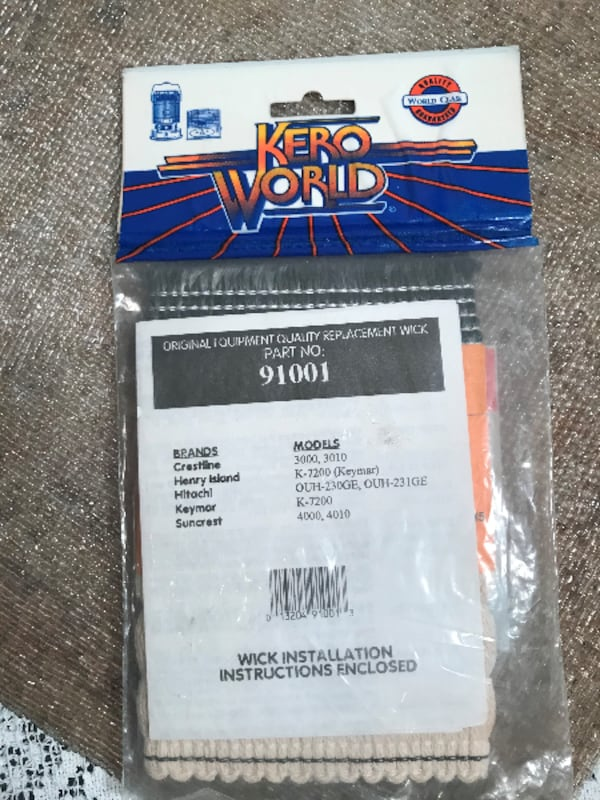 Kero World Replacement Wick Part# 91001 a21ca9d2-eac0-40fc-82b3-309870917ce2