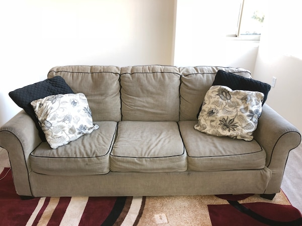 Couch-Sofa Bed & Chair (can sell separately )