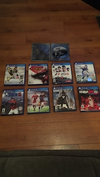Assorted Sony PS4 Games Surrey, V4N 1C8