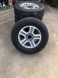 F-150 rims and tires  Midlothian, 76065
